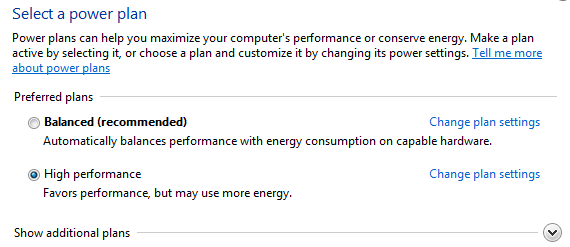 power options plans