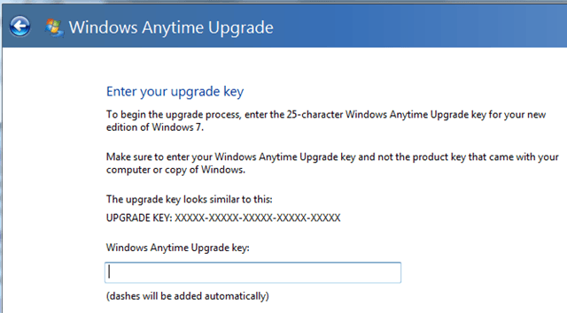 windows 7 anytime upgrade product key free