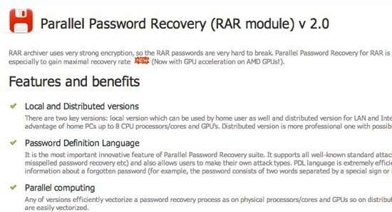 How to Open Password Protected RAR Files