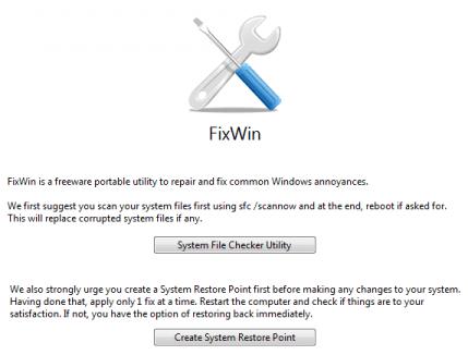 repair windows problems