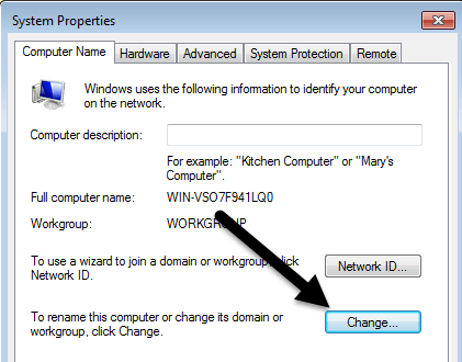 Change Computer & User Name, Picture and Password in Windows
