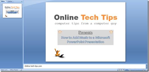 online consejos técnicos de diapositivas