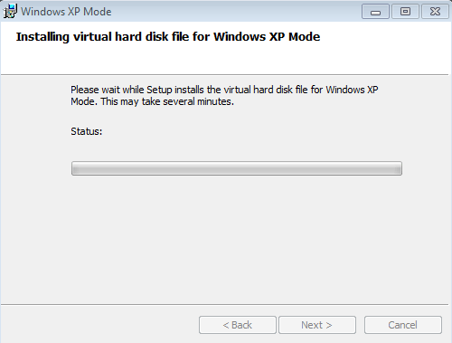 how to install windows 7 xp mode
