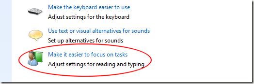 Make it Easier to Focus on Tasks