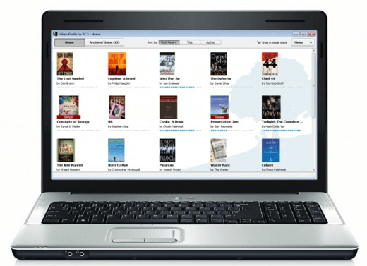 laptop ebook reader
