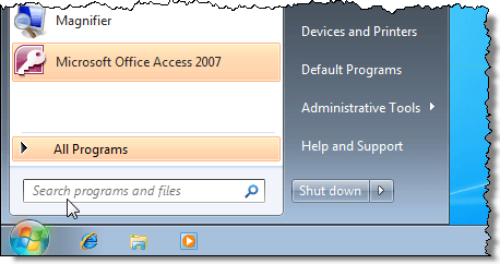 Used to the run command there is a way to get it back in windows 7