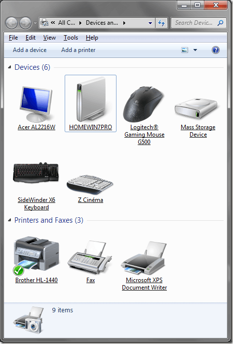 Windows 7 Realistic Icons