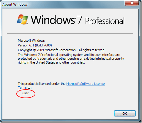 About Windows 7