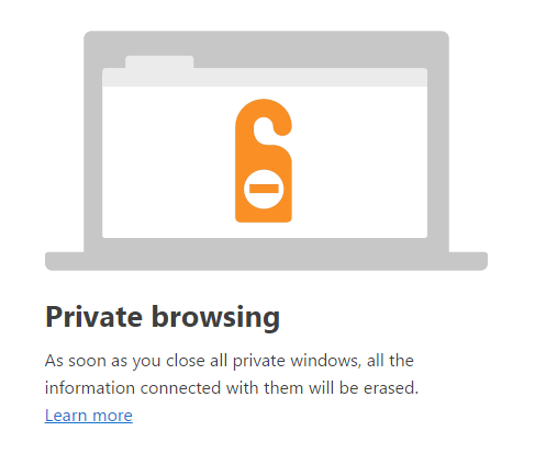 Turn on Private Browsing Mode in Chrome and Opera