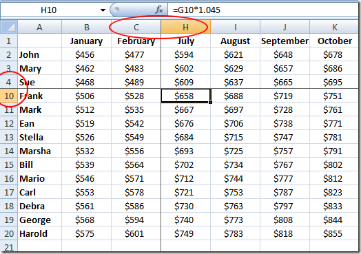 Freeze Panes To Make Excel Spreadsheets Easier To Use