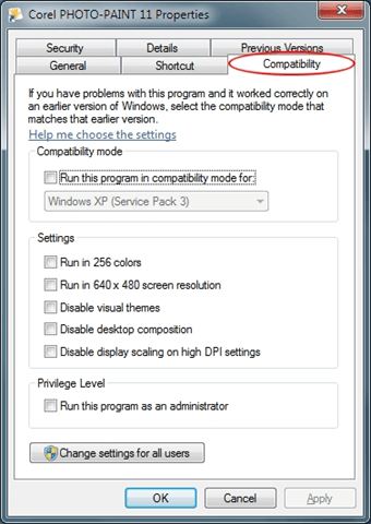 Run Old Programs in 64-bit Windows with Compatibility Mode