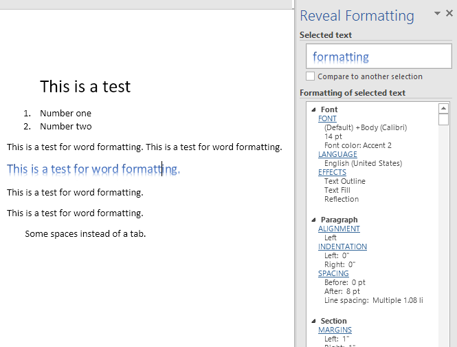 How to Show Formatting Marks in Word