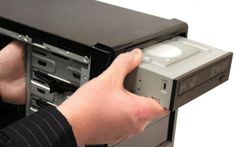 how to put your cd on a hard drive