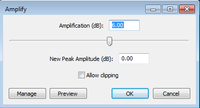 amplification audacity