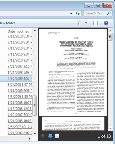xero pdf preview not working