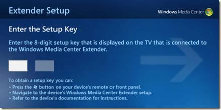 extender setup key