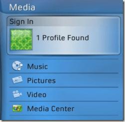 media center xbox