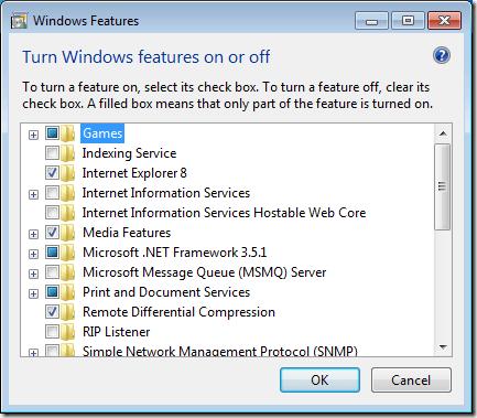 Turn Off Gadgets Platform in Windows 7