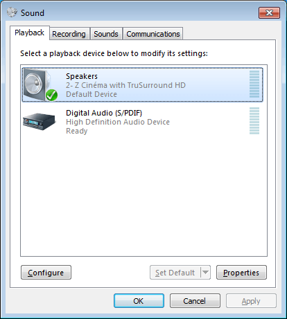 Setup Surround Sound in Windows