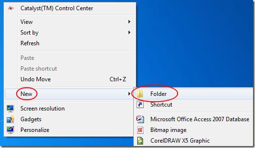 مایکروسافت ویندوز فولدر پوشه