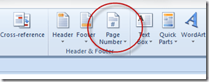 Page Numbers Icon