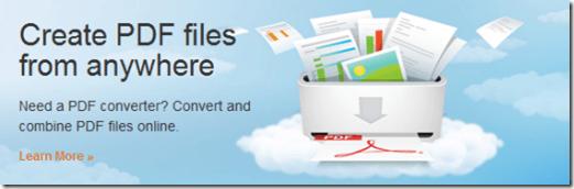 Create PDF Files Online