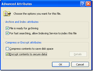 Compress or Encrypt Files