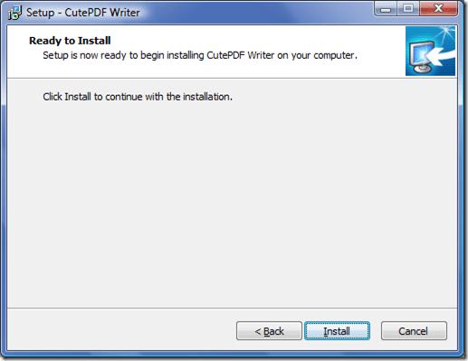CUTE PDF CONVERTER Cutepdf Writer
