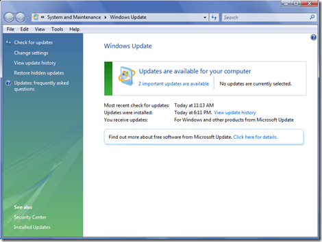 Windows Update