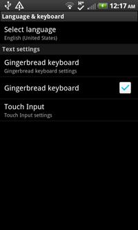 4 Keyboard