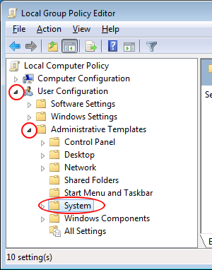 Prevent Access to the Command Prompt in Windows