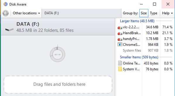 disk aware