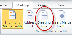 Greeting Line Icon