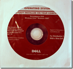 Dell OS Disc