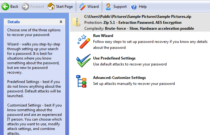Unlock Password Protected Zip Files