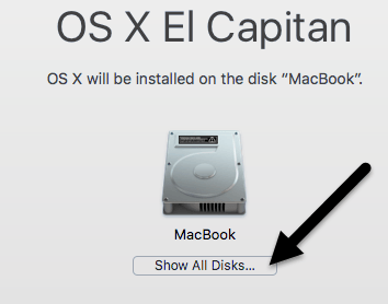 show all disks