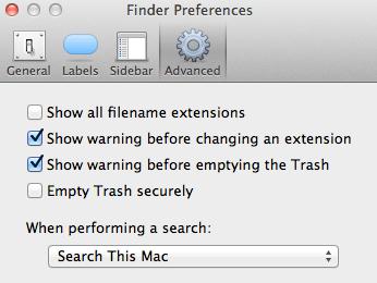 securely delete trash
