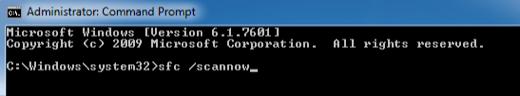 el comprobador de archivos de sistema