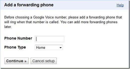 Add a Forwarding Phone Google Voice