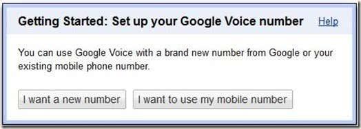Google Voice Prompt
