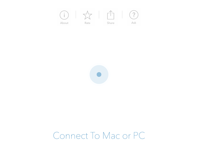 connect to mac or pc