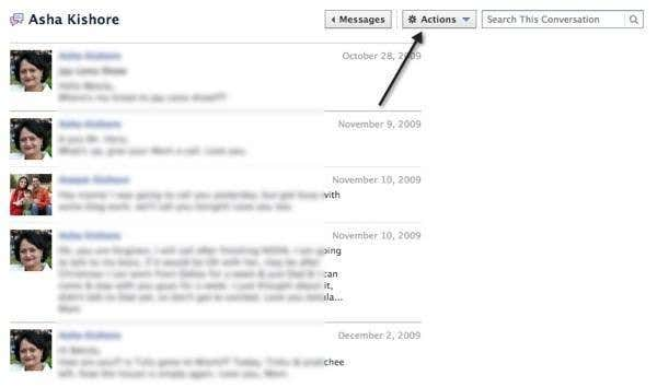 how to download a chat history from facebook