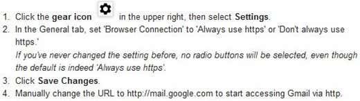 Google HTTPS Setup