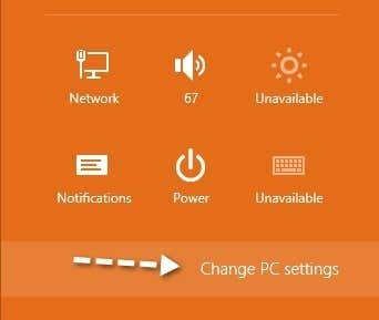 how to change mouse click settings in windows 8