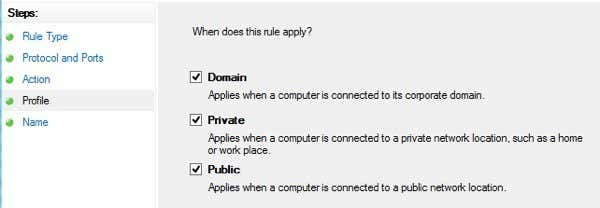 Adjust Windows 10 Firewall Rules & Settings