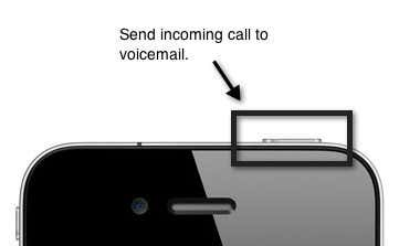 send to voicemail