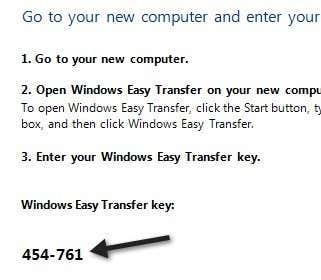 clave de transferencia