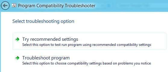 troubleshoot program