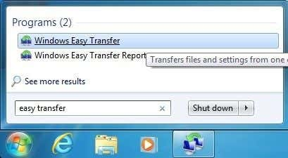 Transfer Files from Windows XP, Vista, 7 or 8 to Windows 10