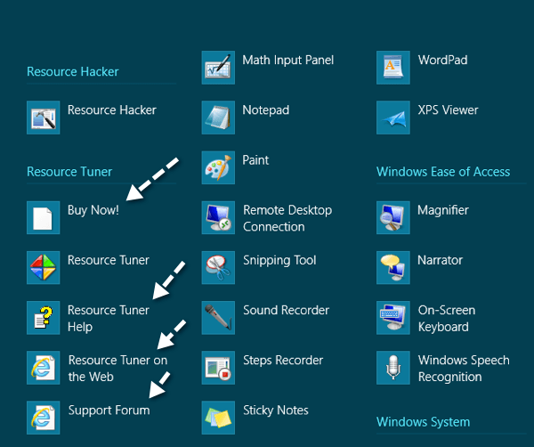 Remove Programs from the All Apps Screen in Windows 8